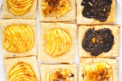 how to make mini apple tarts with puff pastry