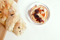 How to make good morning bread with raisin and walnut