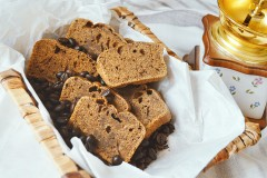 How to bake homemade coffee bread